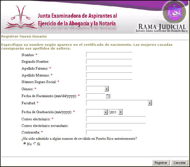 195d54f3484c3 Guía de Usuario del Portal de la Junta Examinadora